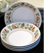 Vintage Noritake China Homecoming Progression Dessert Fruit Bowl Set of ... - $39.99