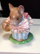 Vintage Beswick Pottery Beatrice Potter's Mrs Tittlemouse Figurine, 1970... - $79.99