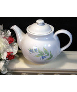 Vintage Corelle Corning Ware My Garden Teapot, 5 Cup Tea Pot, Vintage Di... - $29.99