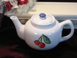 Vintage Corelle Corning Ware Fruit Basket Teapot, Corelle 1990s Dinnerware  - $24.99