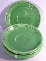 Vintage Homer Laughlin Fiesta Green Saucer, California Pottery Dinnerware - $15.99