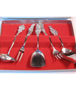 Vintage Reed & Barton Harlequin Silver Plate High Tea Service Mint in Bo... - $69.99