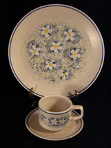 Vintage Lenox Temper-Ware Dewdrops Place Setting, Dinner Plate, Cup and ... - $27.99