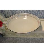 Vintage Lenox China Charleston Flat Soup Bowl, Vintage 1980s Mid Century... - $49.99