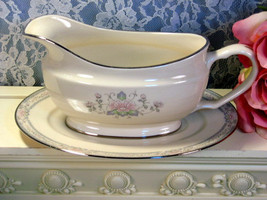 Vintage Lenox China Charleston Gravy or Sauce Server with Underplate, Fi... - $129.99
