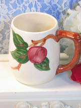 Vintage Franciscan Pottery Apple Large Mug 1950's, Made in USA, California  - $59.99