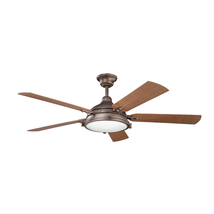 Kichler 310117WCP Hatteras bay patio Ceiling Fans 60in 4-light - $659.00