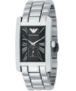 EMPORIO ARMANI AR0156 CLASSIC STAINLESS STEEL GENTS WATCH - $125.89