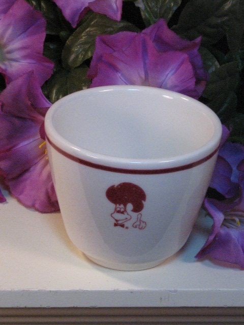 Primary image for Vintage Syracuse China St Hubert BBQ Chicken Rooster Bowl Cup