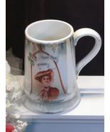 Antique China Luster Victorian Lady McKeesport Pa Souvenir Mug St Patric... - $54.99