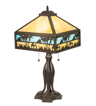 """26"""" High Camel Mission Table Lamp - $1,428.00"""