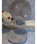 Mikasa China Marbella 4 Piece Place Setting Plates Cup Saucer Four Piece... - $38.99