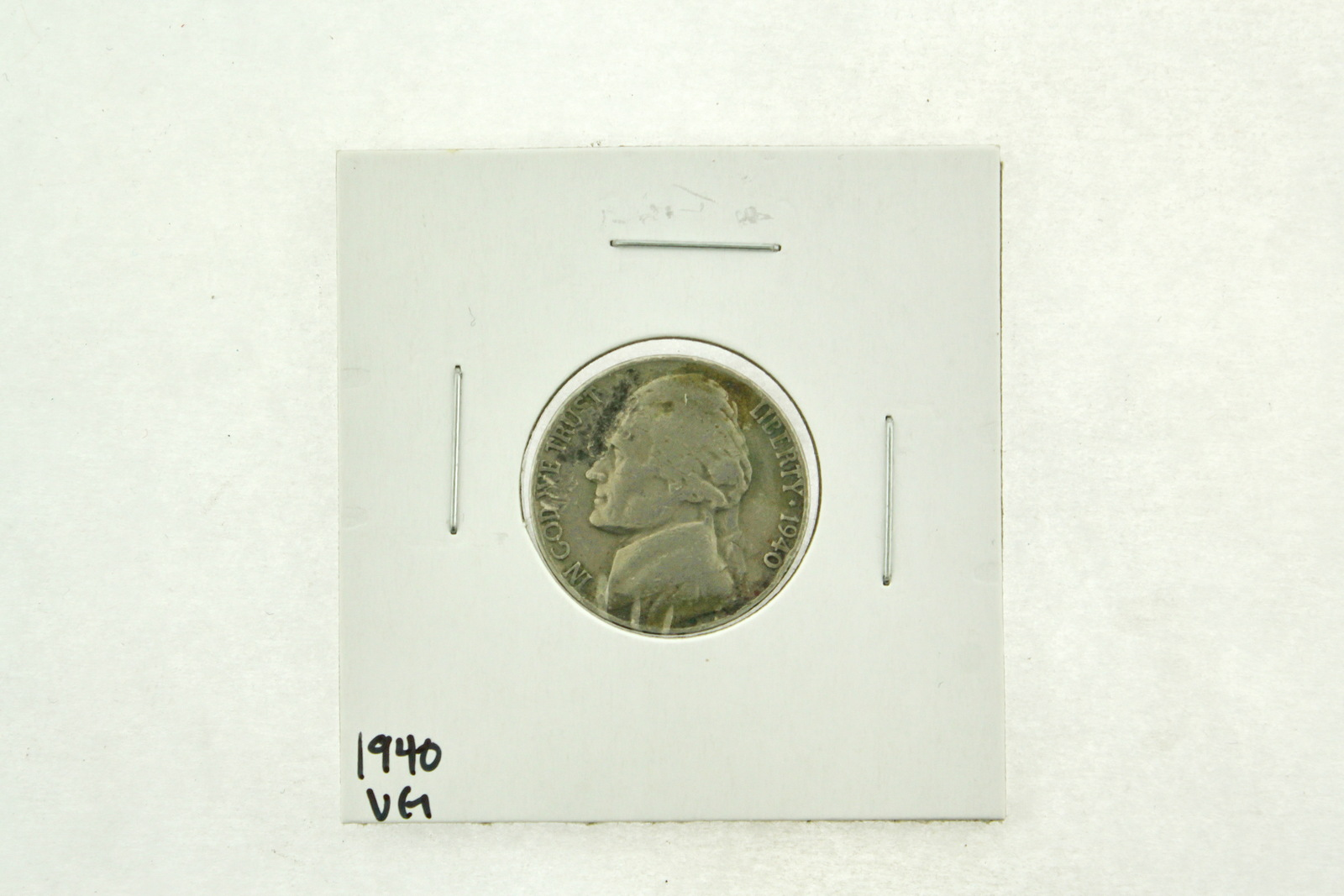 Primary image for 1940 Jefferson Nickel (VG) Very Good N2-2722-2
