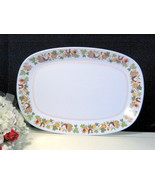 Vintage Noritake China Homecoming Progression Oval Serving Platter - $22.99