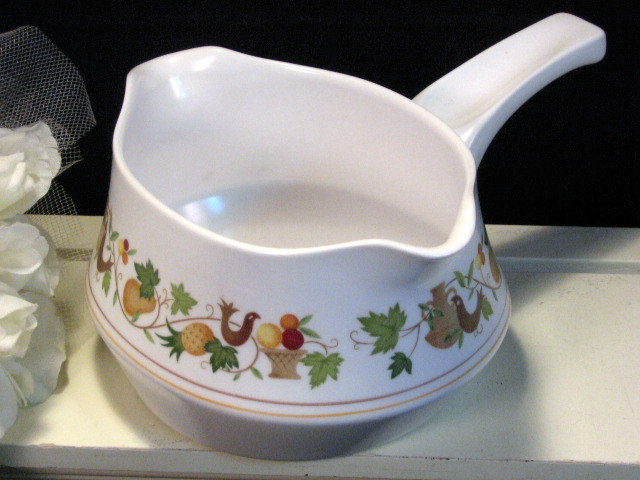 Primary image for Vintage Noritake China Homecoming Progression Gravy Boat or Server 1960s