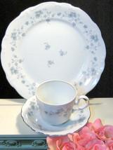 Vintage Blue Garland Johann Haviland China Dinner Cup Saucer Place Setting - $19.99