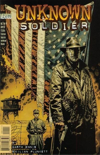 Primary image for UNKNOWN SOLDIER #1 (1997) NM! ~ Garth Ennis