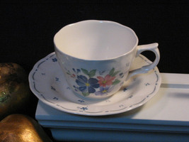 Vintage Nikko China Dauphine Tea Coffee Cup and Saucer - $8.99