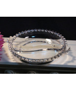 Vintage Imperial Glass Crystal Candlewick Round Divided Relish #400/184 - $14.99