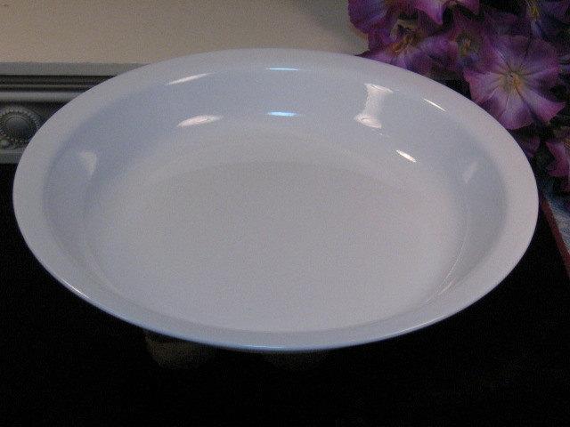 Vintage Corning Ware Pyroceram Winter Frost White Pie Pan, Baking Supplies - $16.99