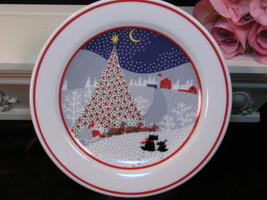 Vintage Noritake China Twas The Night Before Christmas Lunch Salad Plate - $54.99