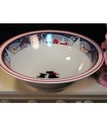 Vintage Noritake China Twas The Night Before Christmas Serving Bowl - $124.99