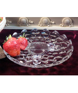 Vintage Fostoria Glass American Crystal Footed Tidbit Dish or Mint Dish,... - $27.99