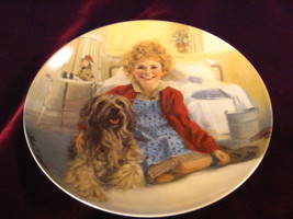 Vintage Knowles China Annie and Sandy Plate from 1982 First Edition Coll... - $16.99