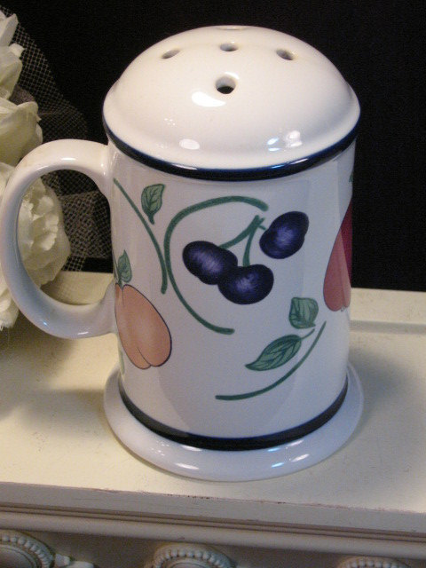 Primary image for Vintage Princess House Orchard Medley Cheese Shaker, Vintage Dinnerware Kitchen
