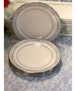 Lenox China Charleston Lunch or Salad Plate, Set of Four, 1980s Dinnerware - $59.99