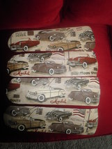 CUSTOM~VINTAGE ALL AMERICAN CLASSIC CONVERTIBLE CARS BLUE MOON DINER CEI... - $89.99