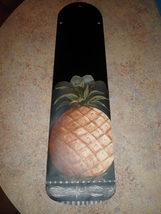 CUSTOM- ELEGANT GOLDEN PINEAPPLE CEILING FAN ~TROPICAL KITCHEN DINING ROOM - $99.99