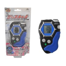 Bandai Digimon Frontier Digivice D-Scanner Version 1 Blue Black D-Tector Rare - $103.95