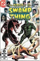 The Saga of Swamp Thing Comic Book #4 DC Comics 1982 FINE - $2.25