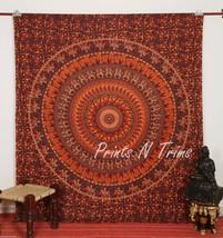 Large Indian Mandala Tapestry Bohemian Wall Hanging Bedspread Beach Shee... - £11.71 GBP