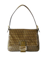 Authentic Fendi Mama Zucchino Coated Canvas Sho... - $225.00