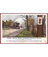 RACINE WISCONSIN Case Steam Roller Threshing 1909 WI - $12.00