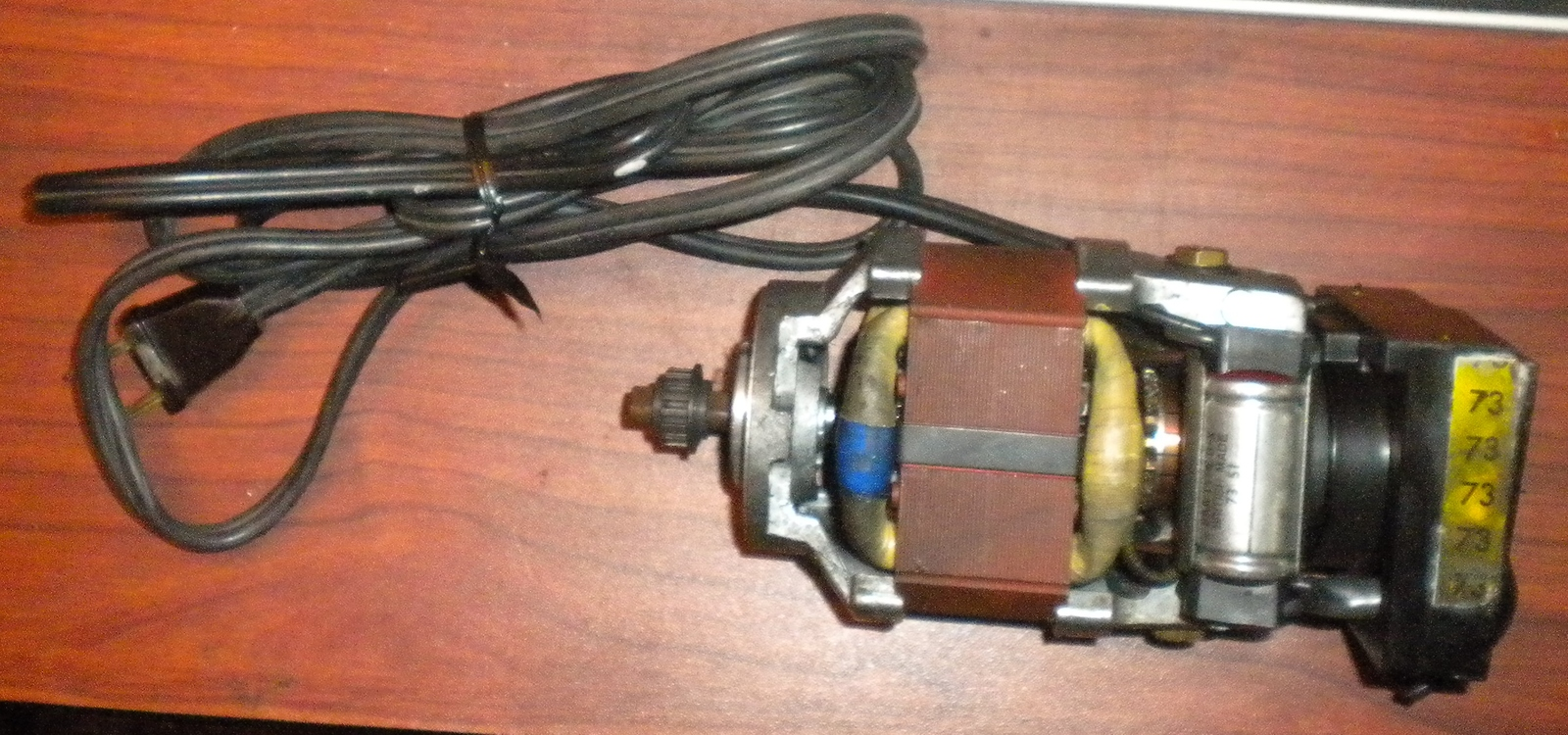 Primary image for Viking Husqvarna 6430 Internal Motor w/Pedal Terminal & Male Electrical Plug