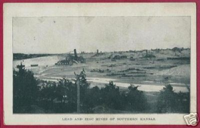 Primary image for LEAD ZINC MINES SOUTHERN KANSAS Vintage Postcard