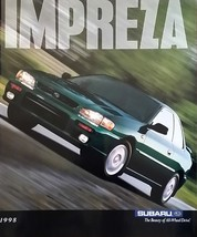 1998 Subaru IMPREZA sales brochure catalog 98 US L 2.5 RS - $8.00