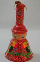 Vintage Pottery Aruba Toucan Hand Painted Souvenir Bell - $19.95
