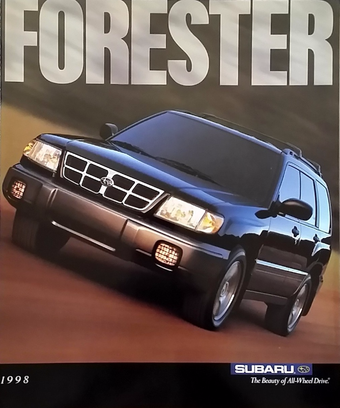 Primary image for 1998 Subaru FORESTER sales brochure catalog 98 US L S