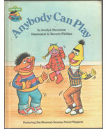 Anybody Can Play: Featuring Jim Henson's Sesame Street Muppets - $7.20