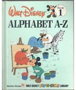 Alphabet A-Z (Disney's Fun-to-Read Library Book), Volume 1 - $7.20