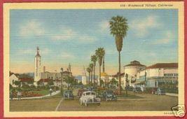 Westwood Village CA Postcard Cars Standard Linen BJs - $6.50