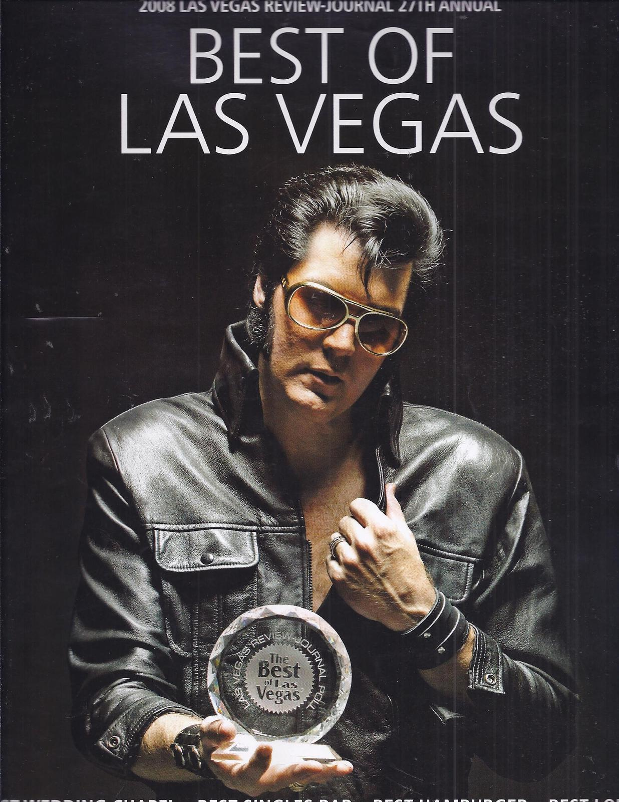 Primary image for 2008 Review Journal 27th Annual Magazine: The BEST OF LAS VEGAS-  Brendan Paul