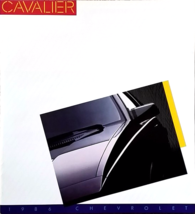 1986 Chevrolet CAVALIER sales brochure catalog ... - $6.00