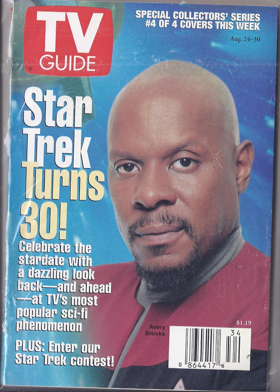 Primary image for AVERY BROOKS in STAR TREK TURNS 30  TV Guide Collector Series #4