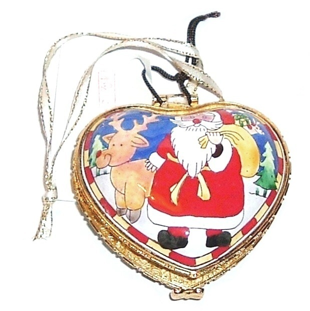 Heart ornament box