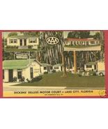 LAKE CITY FLORIDA Dickens Motor Court FL - $6.50